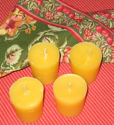 Candlesbeeswaxvotives